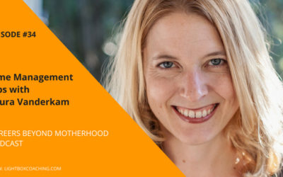 Episode 34 – Time Management Tips for Working Mums with Laura Vanderkam