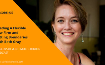 Episode 37 – Leading a Flexible Law Firm and Setting Boundaries with Beth Gray