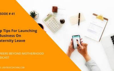 Episode 41 – Top Tips For Launching A Business on Maternity Leave