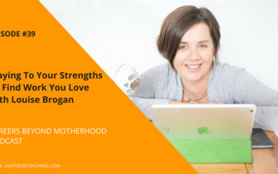 Episode 39 –  Playing to Your Strengths To Find Work You Love